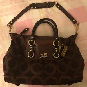 COACH convertible purse